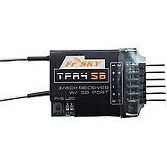 FrSky Futaba FASST de récepteur compatible 3 / 16ch S.BUS, TFR4SB