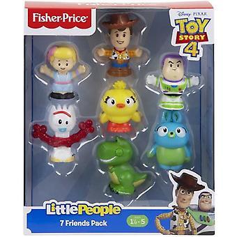 Fisher Price, Toy Story 4 - 7x Figurer