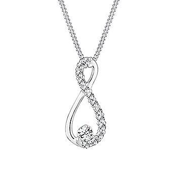 Elli Srebrny naszyjnik damski 925 z kryształem Swarovskiego 0107173013_45