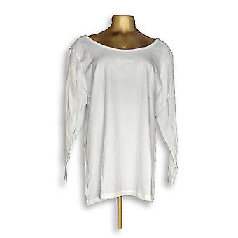 Women with Control Women's Petite Top XLP Essentials White A302269