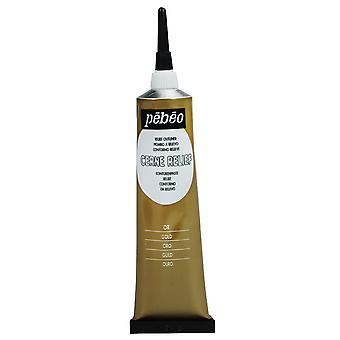 Pebeo Cerne Relief Outliner 37ml (Gold)