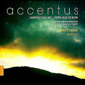 Mantovani / Accentus / Equilbey / Boer / Wieder - Voices [CD] USA import