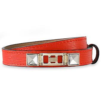 PS11 Fire Red Double Bracelet