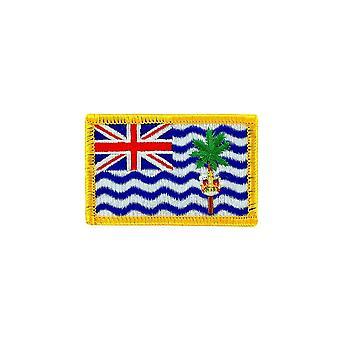 التصحيح Ecusson برود العلم حقيبة ظهر الأراضي البريطانية المحيط الهندي البريطانية البريطانية
