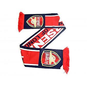 Arsenal FC Pride of London Jacquard neulottu huivi