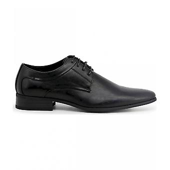 Duca di Morrone - Chaussures - Chaussures lacets - SMITH-BLACK - Hommes - Schwartz - 45