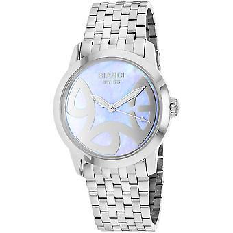 Roberto Bianci Femmes apos;s Amadeus Blue MOP Dial Watch - RB18581