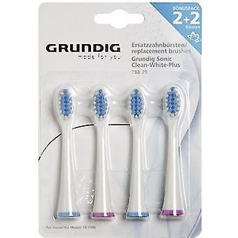 Grundig TBB79 Medium Electric toothbrush brush attachments 4 pc(s) White