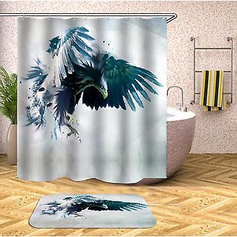 Turkis Shower gardin Eagle Shower gardin