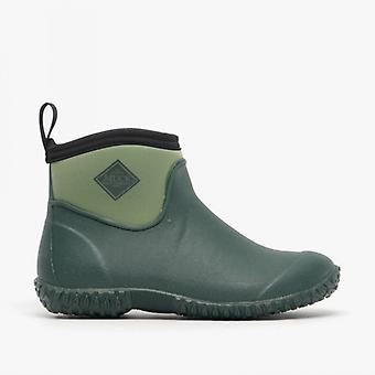 Muck laarzen Muckster II enkel dames waterdichte rubber enkellaars groen