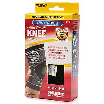 Mueller sport care 4-way stretch knee support, moderate support, 1 ea