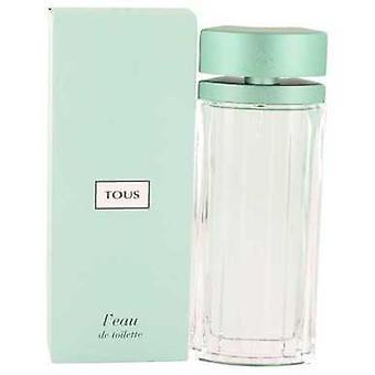 Tous l'eau door Tous Eau de Toilette Spray 3 oz (vrouwen) V728-529192