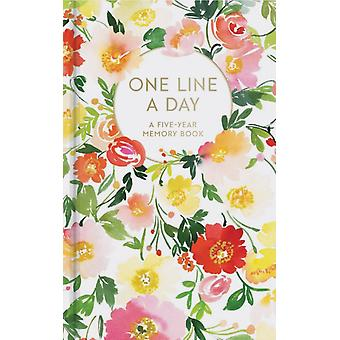 Floral One Line a Day A FiveYear Memory Book by Yao Cheng