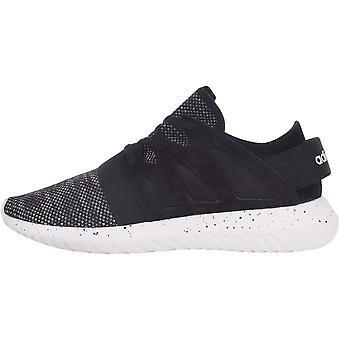 adidas Originals Womens Tubular Viral Lace Up Casual Trainers Sneakers - Noir