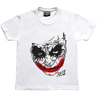 Joker White Kids' T-Shirt
