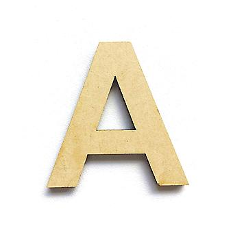 Wooden Large Capital Alphabet Letters - A