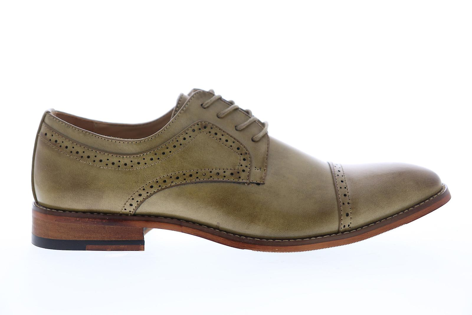 Unlisted Av Kenneth Cole Cheer Lace Up Menn Brown Casual Oxfords Sko