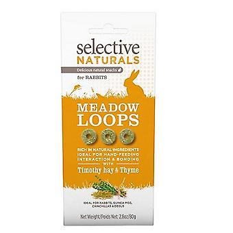 Supreme Selective Naturals Meadow Loops Rabbit Treat (4 Packs)