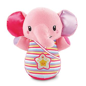 Vtech Toys Baby Snooze & Soothe Elephant Cuddly Soft Toy Bevat 2 nummers en 30