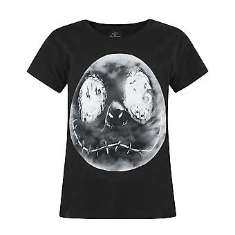 Nightmare Before Christmas Jack Moon Girl's T-Shirt