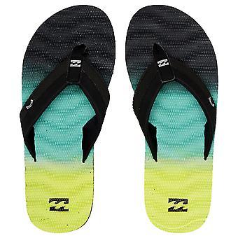 Billabong Water Resistant Mens Sandals ~ Dunes Fade citrus