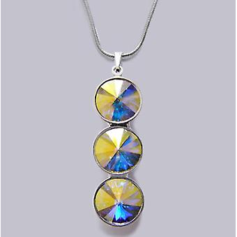 Necklace with Crystal pendant PMB 4.6