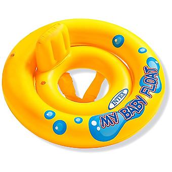 Baby Inflatable Swim Seat Learn To Swim Round Inflatable Yellow 0-12 Months