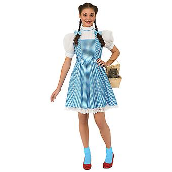 The Wizard Of Oz Womens/Ladies Dorothy Costume