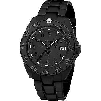 KHS Wristwatch الرجال المنفذ الأسود الصلب XTAC CR KHS. ENFBSCRXT. SSEB