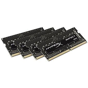 Hyperx Impact HX421S14IBK4/16 2133 MHz DDR4 CL14 SODIMM 1.2 V 260-pin notebook RAM KIT Black 16 GB Kit (4x4 GB)