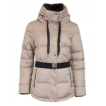 Rino & Pelle Belted Fur Collar Jacket