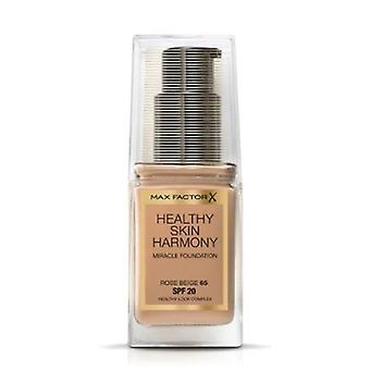 Max Factor Makeup Foundation Healthy Skin Harmony 65 rose beige
