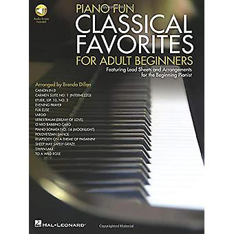 Piano Fun - Classical Favorites For Adult Beginners (Book/Online Audio