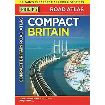 Philip's Compact Britain Road Atlas - Flexi A5 - 9781849074179 Book