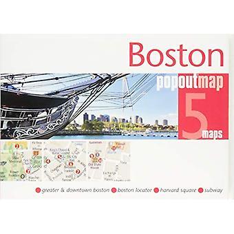 Boston PopOut Map by PopOut Maps - 9781910218624 Book
