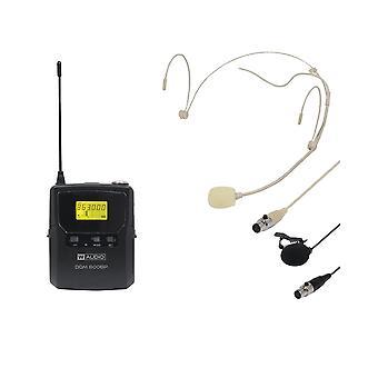 W audio Dqm800bp toevoegen op Beltpack Kit-Ch70