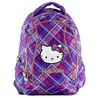 Hello Kitty 00595 Target School Backpack - Purple