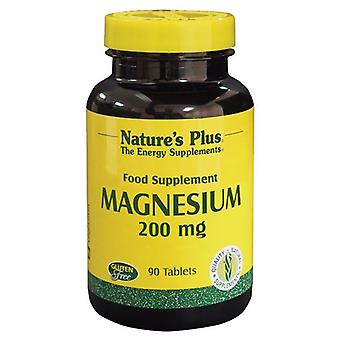 Nature's Plus Magnesium 200mg Tabs 90 (3350)