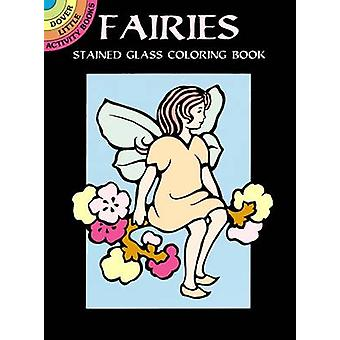 Fairies Stained Glass Coloring Book by Marty Noble - 9780486402475 Bo
