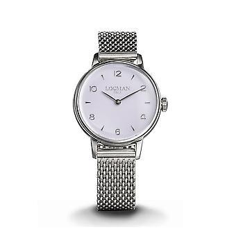 LOCMAN - Wristwatch - Women - 0253A18A-00VTNK2B0 - 1960 LADY ONLY TIME QUARTZ