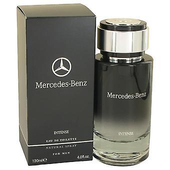 Mercedes Benz Intense Eau De Toilette Spray By Mercedes Benz 4 oz Eau De Toilette Spray