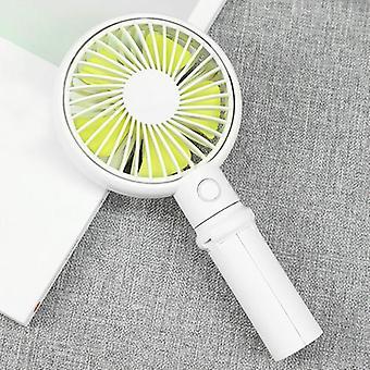 Benks portable handheld tripod adjustable 3 speed usb rechargeable cooling fan desktop phone holder