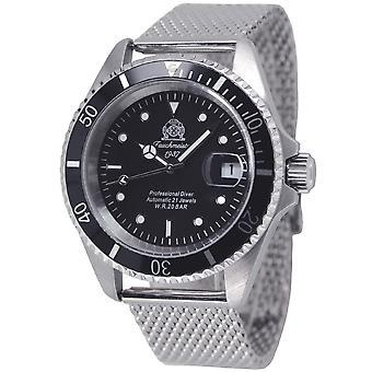 Tauchmeister T0250MIL automatisch duikers horloge 200 meter