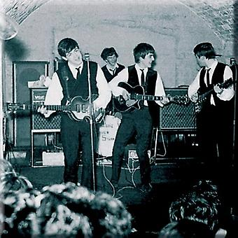 The Beatles Fridge Magnet Live at the Cavern new Official 76mm x 76mm