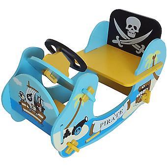 Kiddi estilo pirata barco de balanço