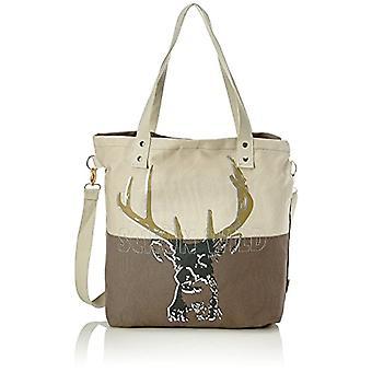 Adelheid Sch?n Wild Einkaufstasche - Beige Women's Bag (Sand) 10x39x44cm (B x H T)