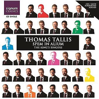 T. Tallis - Thomas Tallis: Spem in Alium USA import