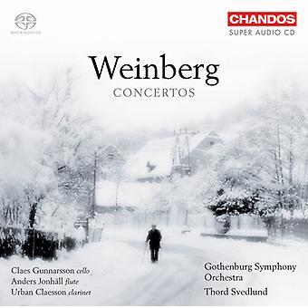 M. Weinberg - Mieczysaw Weinberg: Importación de USA de conciertos [CD]