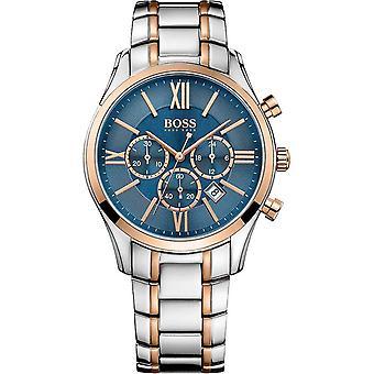 Hugo Boss 1513321 Chronograph Quartz with Stainless Steel Strap Men's Watch