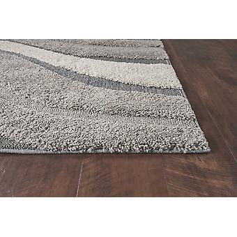 """39"""" X 63"""" אפור פוליפרופילן שטיח"""
